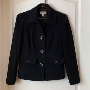 Women's Talbots petites Black blazer Size 4